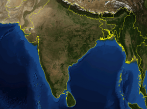 India satellite image, warming ocean, threat, strategy, food resources, acidification, Red (Team) Analysis Society, risk analysis, geopolitics